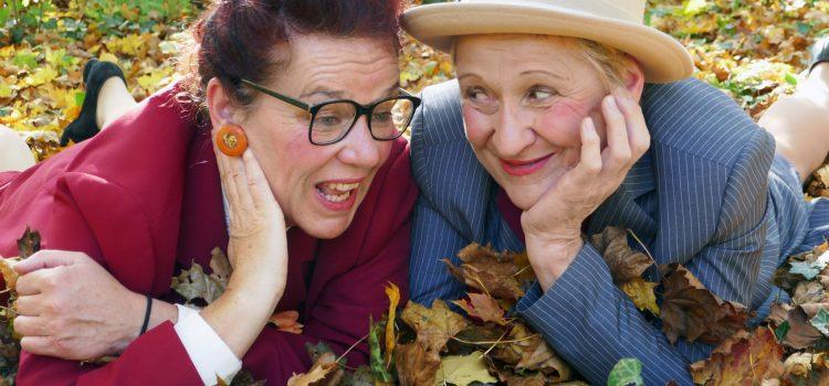 Inge & Rita Altweibersommer – PREMIERE am 13. Nov. Disharmonie Schweinfurt 19.30 Uhr
