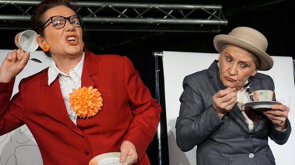 Inge und Rita Disharmonie Schweinfurt