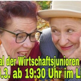 Inge & Rita Livestream Digitale Kulturfestival am Samstag 20. März ab 19.30 Uhr